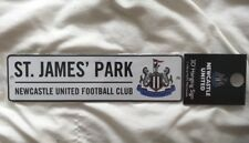Newcastle United Football Club Hanging Street Sign St James Park Christmas Gift
