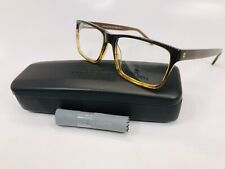 New Wide Guyz Brown Fade BABY FACE  Eyeglasses 57mm for The Stylish Large Man