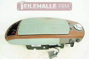 BMW E65 7er Mittelarmlehne steingrün Leder Ablagefach Schalter Sitze 7011600