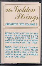 The Golden Strings Greatest Hits Volume 2 Cassette  Hello Dolly Blue Moon