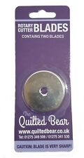 Quilted Bear DAFA 45mm Rotary Cutter Spare Replacement Blade - Pack of Two
