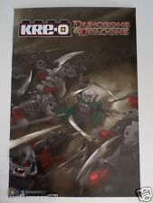 SDCC Comic Con 2013 EXCLUSIVE Hasbro Kre-O Dungeons & Dragons Poster DRIZZT DO'U