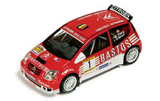 Citroen C2 S1600 Rally Czech Barum 2004 Thiry-Gilsoul RAM153 1/43 Ixomodels