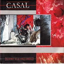 """7"""" promo TINO CASAL teatro de la oscuridad SPAIN EMI 1984 miel en la nevera"""