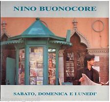 Nino Buonocore: Sabato, Domenica e Lunedì - LP Vinyl 33 rpm nuovo non sigillato