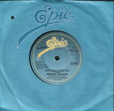 """MICHAEL JACKSON she's out of my life 7"""" CS EX/EX S EPC 8384"""