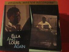 "MFSL-UDCD 651 ELLA FITZGERALD ""ELLA AND LOUIS AGAIN""(DO-GOLD-CD/FACTORY SEALED)"