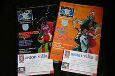 More details for man utd v palace 1995 fa cup semi and replay programme's plus both ticket's