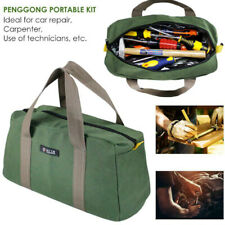 16inch Multi-function Canvas Waterproof Storage Hand Tool Bag Toolkit Portable