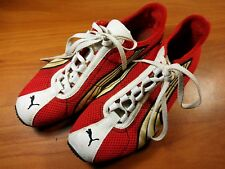Puma H Street Running Men's Shoes Rare Vintage size 6.5 Red White Gold