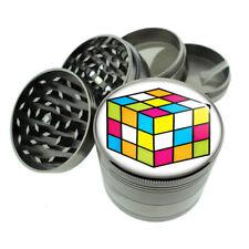 80's Theme D8 Titanium Grinder 4 Piece Magnetic Hand Mueller Game Cube