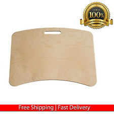 PORTABLE WOOD LAPTOP TABLE DESK LAP NOTEBOOK TRAY COMPUTER TABLET STAND PLATE