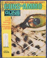 Vintage Magazine GUNS & AMMO September 1969 !!! BROWNING Model BL-22 RIFLE !!!