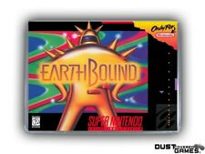 EarthBound (SNES, 1994) original w/ Box and Protective Sleeve and manual