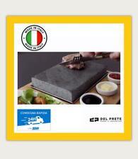 PIETRA LAVICA per BBQ REFRATTARIA per FORNO OLLARE  2cm TUTTE LE MISURE 2 cm