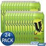 24 x V CANS ENERGY DRINK BEVERAGE SUPPLEMENT SPORTS WORKOUT GYM JOG JUICE 500mL