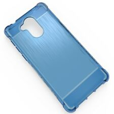 FUNDA gel tpu silicona para huawei  honor 6A  anti golpe azul