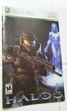 Halo 3 Xbox 360 Instruction Booklet Insert Only Microsoft