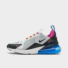 Men's Nike Air Max 270 Casual Shoes White/Black/Magma Orange/Active Fuchsia CW69