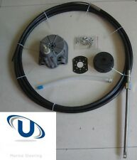 Universal Boat Steering Box Kit 15FT ~ 4.57M Cable Teleflex Multiflex Compatible