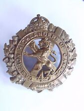 Rare Ww1 43rd Bn Cameron Highlanders Cap Badge Canada Cef Canadian Expeditionary