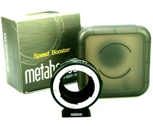 Metabones Nikon F / G Lens to Micro Four Thirds Adapter - In a Speed Booster Box