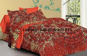 Indian Mandala King Size Duvet Doona Cover Bohemian Bedding/Quilt Set Hippie
