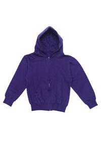 G-Style USA Boy & Girl Kids Youth Preshrunk Basic Zip-Up Hoodie Sweater -13178