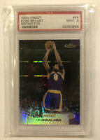1999 Topps Finest Refractor Kobe Bryant Los Angeles Lakers PSA 9 MINT