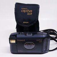 Vintage Polaroid Captiva SLR Auto Focus Instant Camera, Strap & Case *UNTESTED*