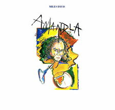 "MILES DAVIS - Amandla 1989 (Vinile & Cover=M) LP 12"" Insert Note"