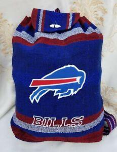 NFL Buffalo BILLS Handmade Backpack Aztec Tote Bag