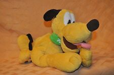 "Disney's PLUTO 14"" Stuffed Plush Doll EXC Condition"