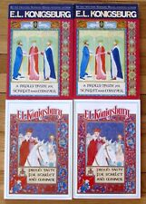 Lot 4 A PROUD TASTE FOR SCARLET AND MINIVER by E.L. Konigsburg guided reading