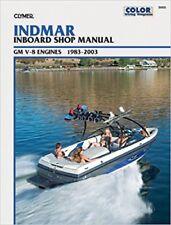 Clymer Manuals Indmar Gm V-8 Inboards, 1983-2003 B805