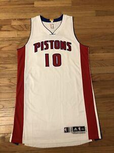 Greg Monroe Detroit Pistons NBA Adidas Game Worn Auto Jersey Size 3XL4