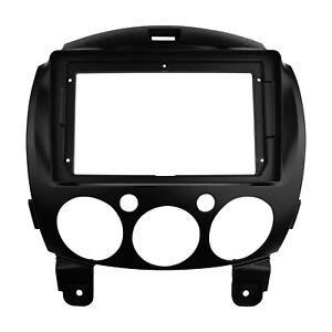 Car Radio 9 inch Screen Fascia for Mazda 2 Demio 2007+ Stereo Panel Dash Kit