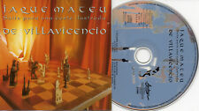 "DE VILLAVICENCIO ""JAQUE MATEU SUITE PARA UNA CORTE I."" RARE SPANISH CD / NEW AGE"