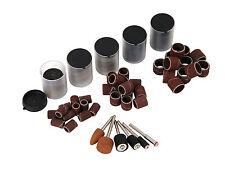 206Pc Drum Sanding Band/Wheels & Cutting Disc Bit Set Fits Mini Rotary Drills
