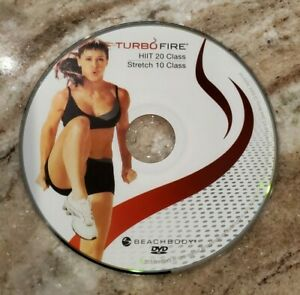 TURBO FIRE - Chalene Johnson - HIIT 20, STRETCH 10 - DVD Replacement Disc