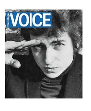 THE VILLAGE VOICE BOB DYLAN COVER FINAL NEWSPAPER OF THE VOICE 9/20/17