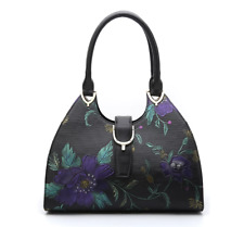 Serenade Monet SL98-1764 Leather Bag with Buckle