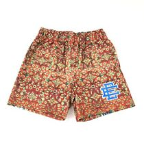 Eric Emanuel EE Basic Blue Red Persian Rug Shorts Size Small
