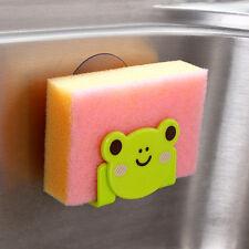 Sostenedor de la esponja plato de la cuchillería palero del estante del botón
