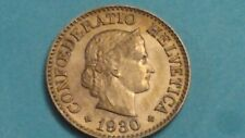 ⭐ HIGH GRADE 1930 SWITZERLAND 10 RAPPEN COIN SHIPS FREE 😃