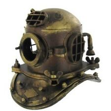 NAUTICAL DECOR  Scuba Diving Divers Helmet US Navy Mark V Solid Steel NEW!!