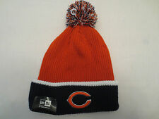 NEW ERA NFL FIRESIDE KNIT POM BEANIE CAP HAT CHICAGO BEARS