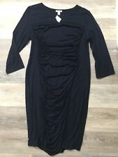A Pea In The Pod New With Tags Navy Blue Dress Size Large