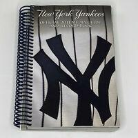 2011 New York Yankees MLB Baseball Media Guide Book Derek Jeter Mariano Rivera
