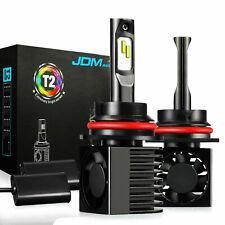 JDM ASTAR 2x T2 9007/HB5 LED Headlight Hi/Low Beam Replacement Bulb Xenon White